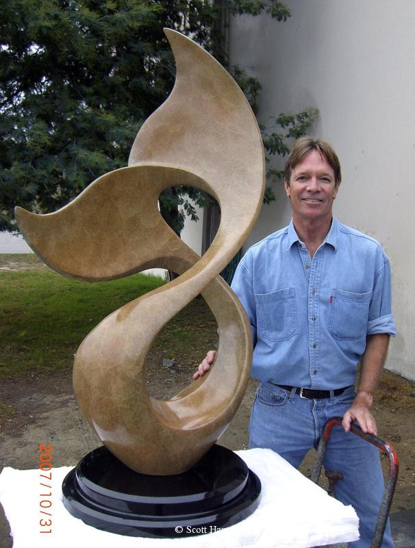 """Winters Song"" - Monumental Bronze Sculptures Monumental Bronze Sculptures by Scott Hanson - Monumental Sculpturesby Scott Hanson"